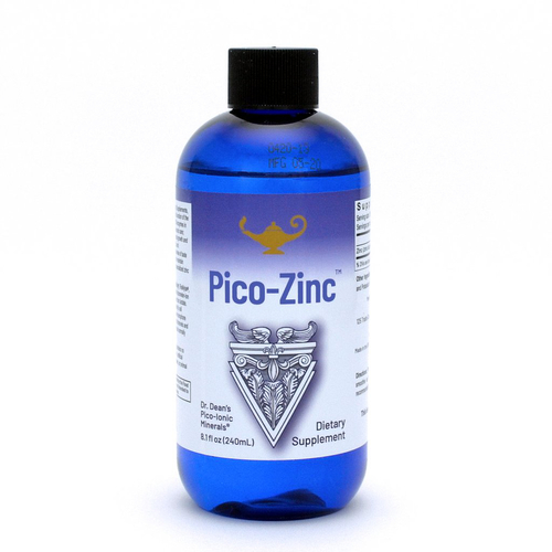 Pico-Zinc - Zink-Lösung   Dr. Dean´s piko-ionisches flüssiges Zink - 240ml