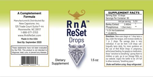 RnA ReSet Drops - Gerste-Extrakt