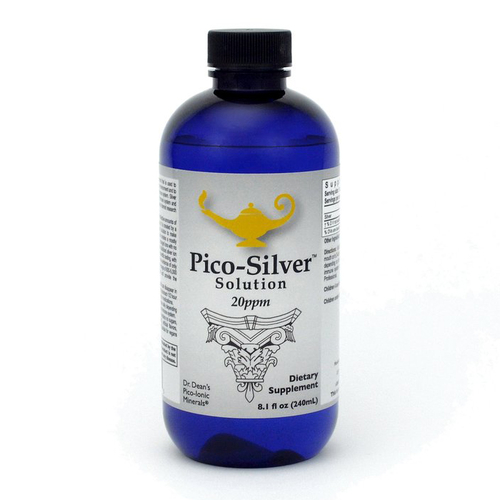 Pico-Silver Solution   Dr. Dean´s piko-ionische Silber-Lösung - 240ml
